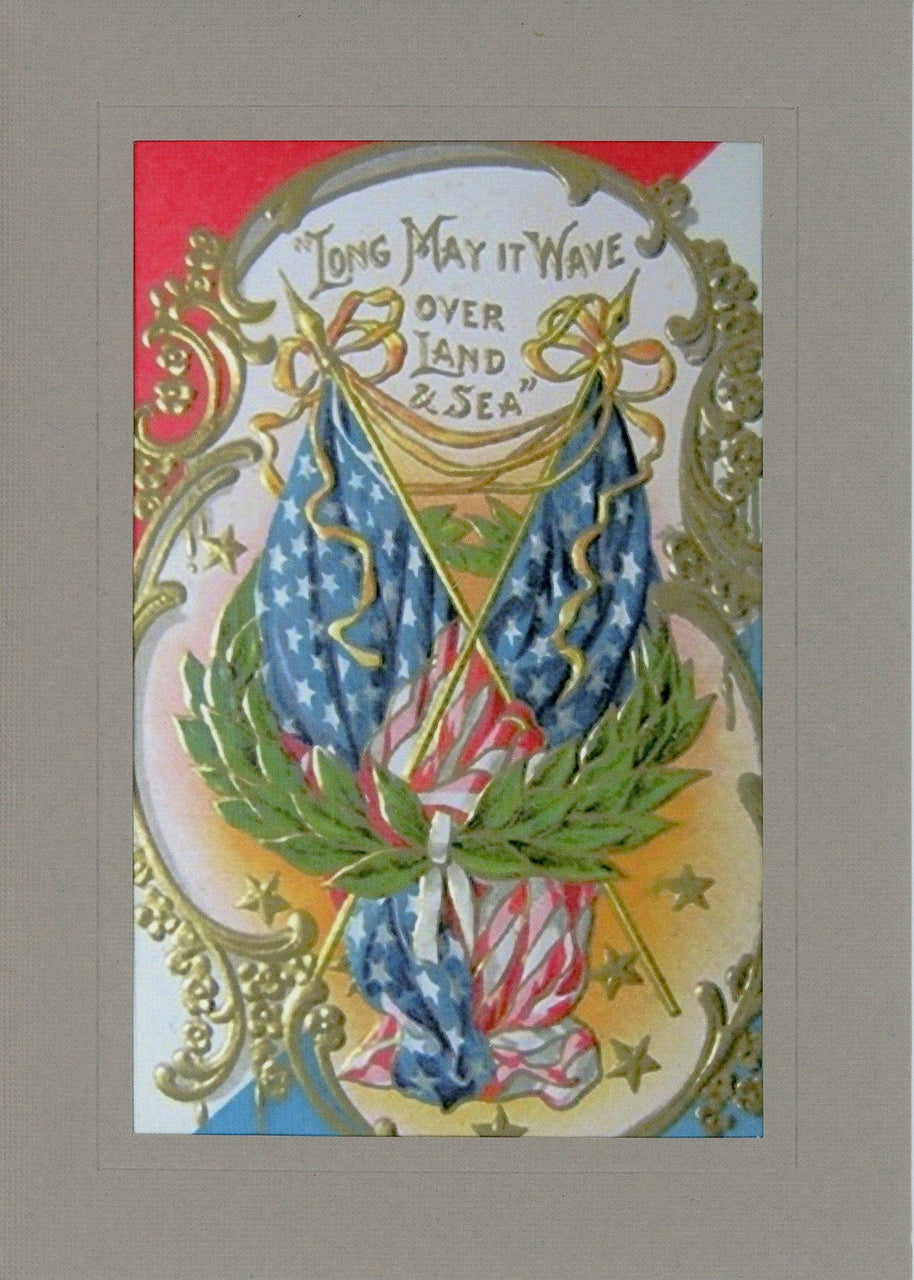 Long May It Wave - PLYMOUTH CARD COMPANY