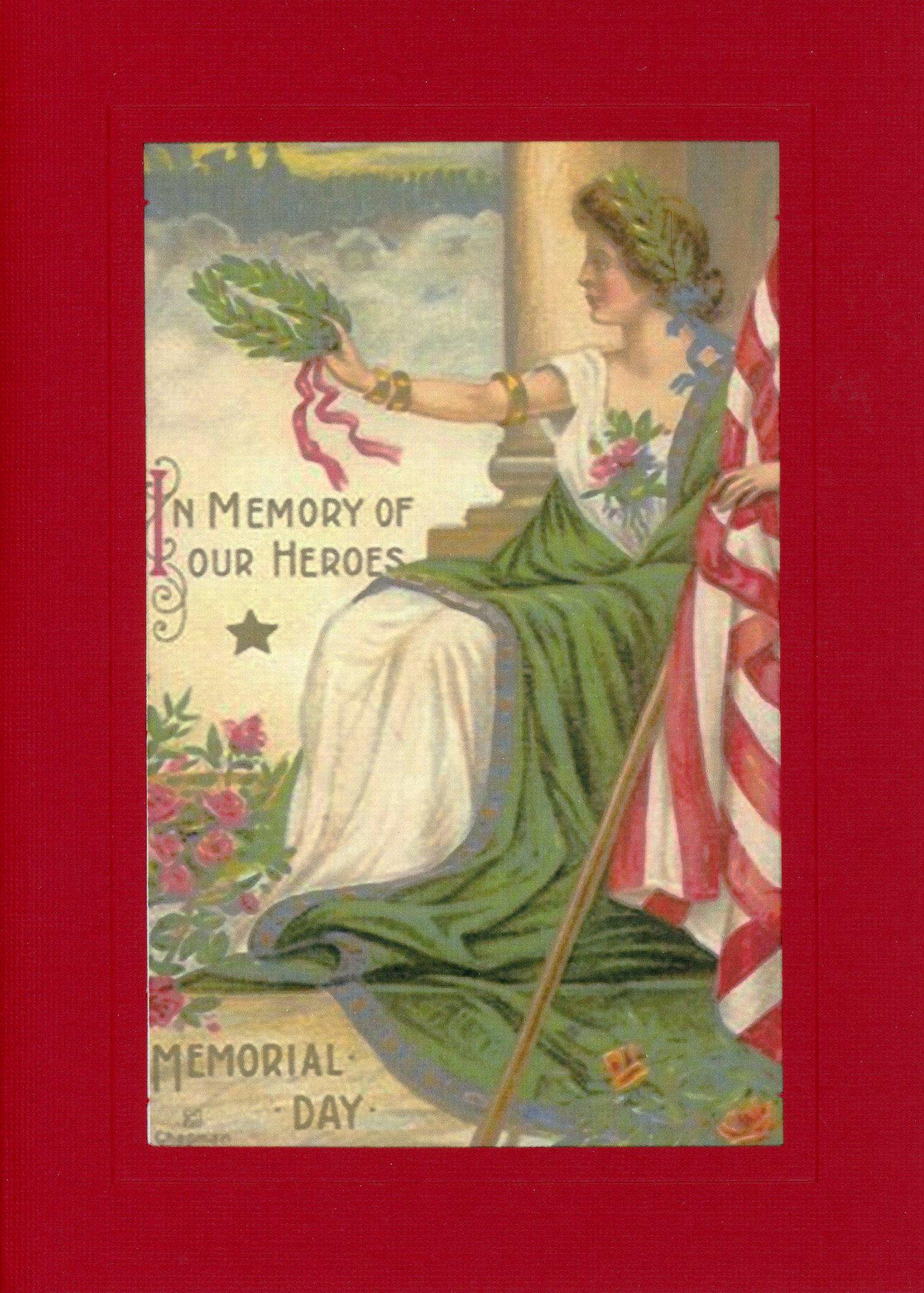 In Memory of Our Heroes-Greetings from the Past-Plymouth Cards