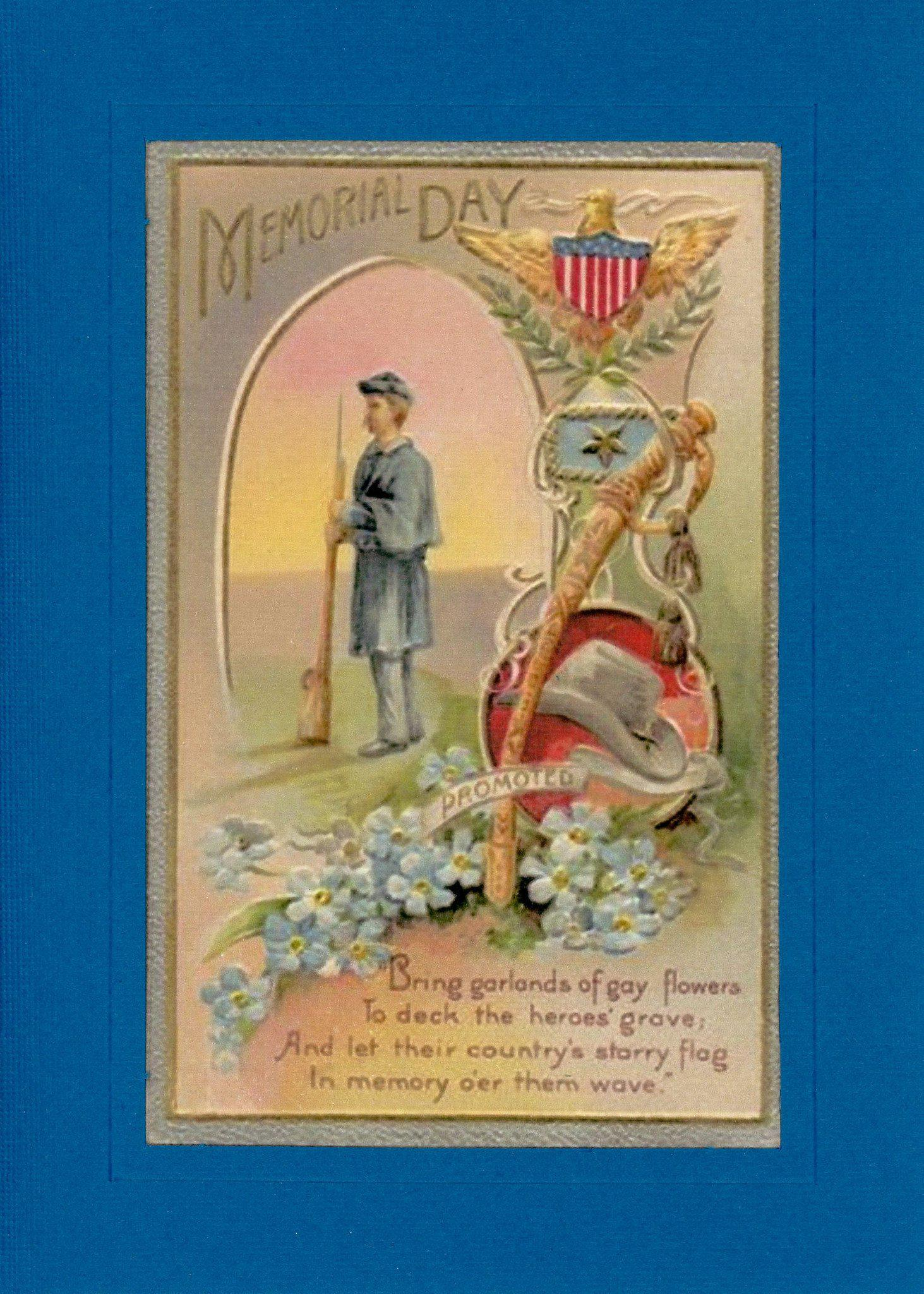 Memorial Day-Greetings from the Past-Plymouth Cards
