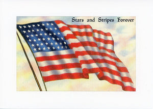 Stars and Stripes Forever - PLYMOUTH CARD COMPANY
