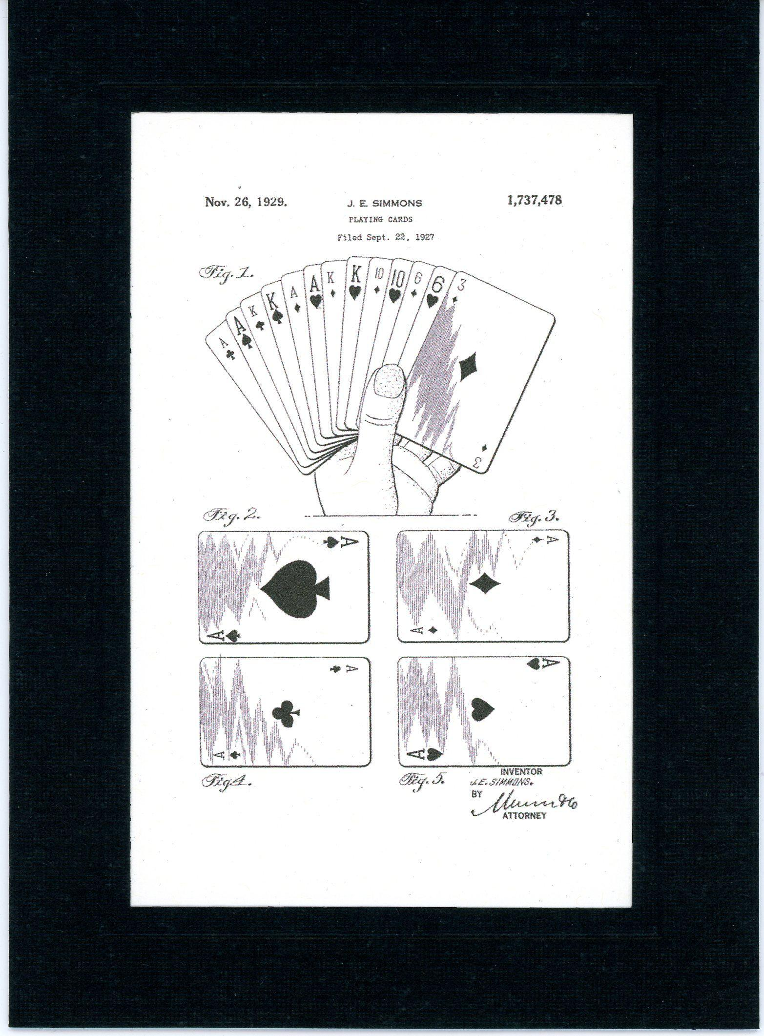 Playing Cards 1929-Greeting Card-Plymouth Cards