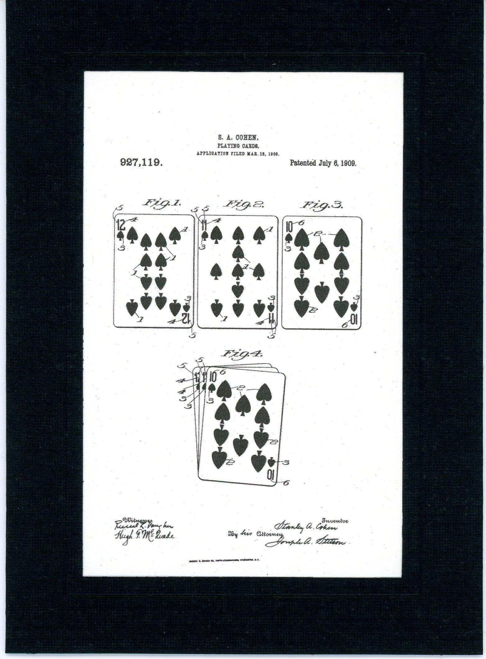 Playing Cards 1909-Greeting Card-Plymouth Cards