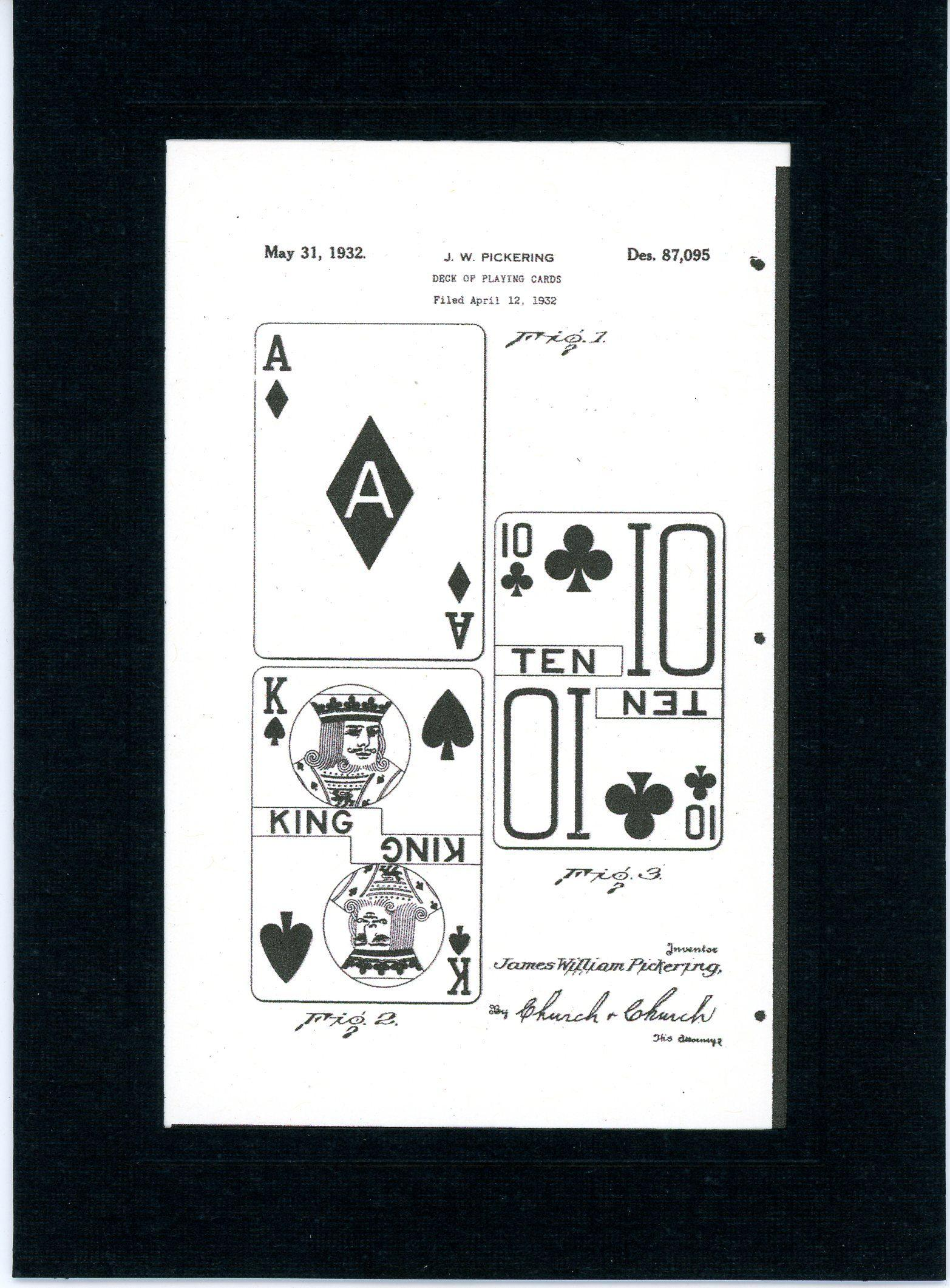 Playing Cards 1932-Greeting Card-Plymouth Cards
