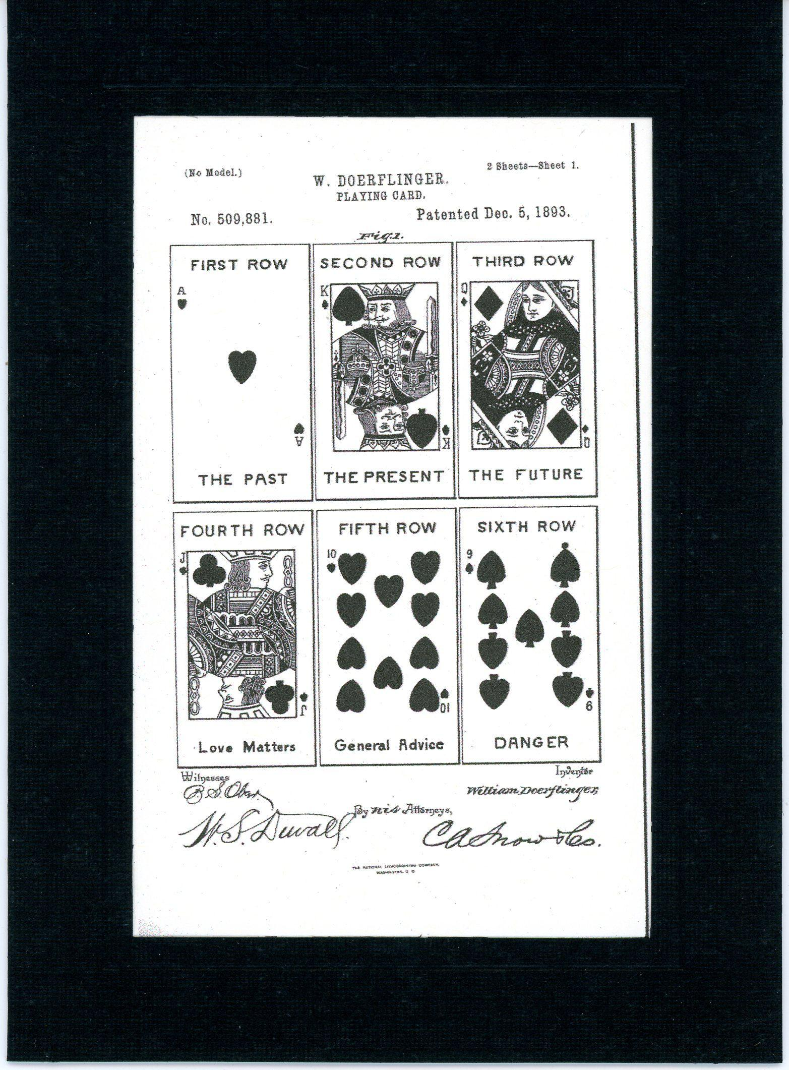Playing Cards 1893-Greeting Card-Plymouth Cards