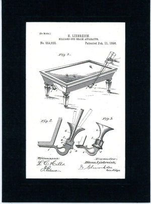 Billiard Cue Chalk Apparatus-Greeting Card-Plymouth Cards