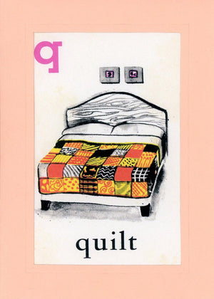 Q is for Quilt - PLYMOUTH CARD COMPANY  - 1