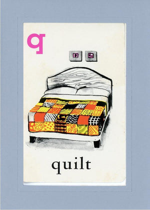Q is for Quilt - PLYMOUTH CARD COMPANY  - 16