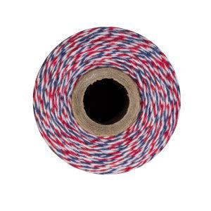 Red White Blue Baker's Twine