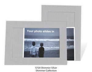 Shimmer Silver #S720-Photo note cards-Plymouth Cards