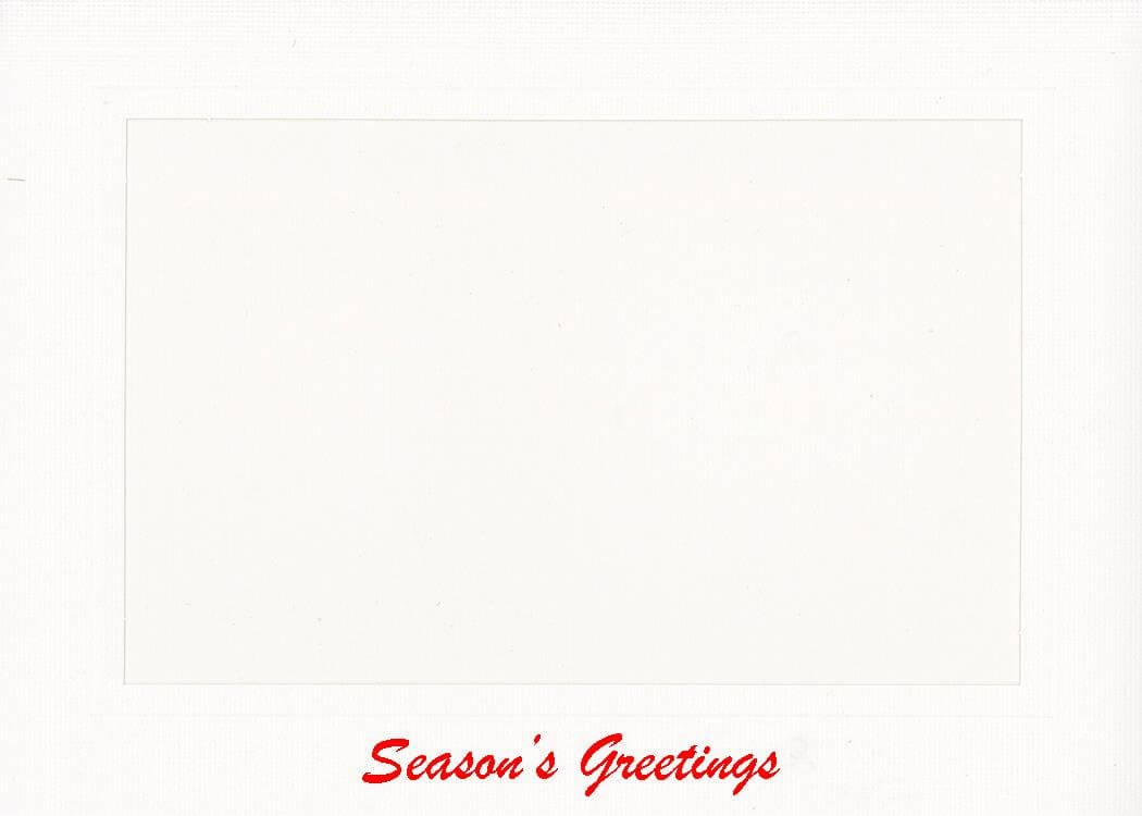 Season's Greetings-Photo note cards-Plymouth Cards