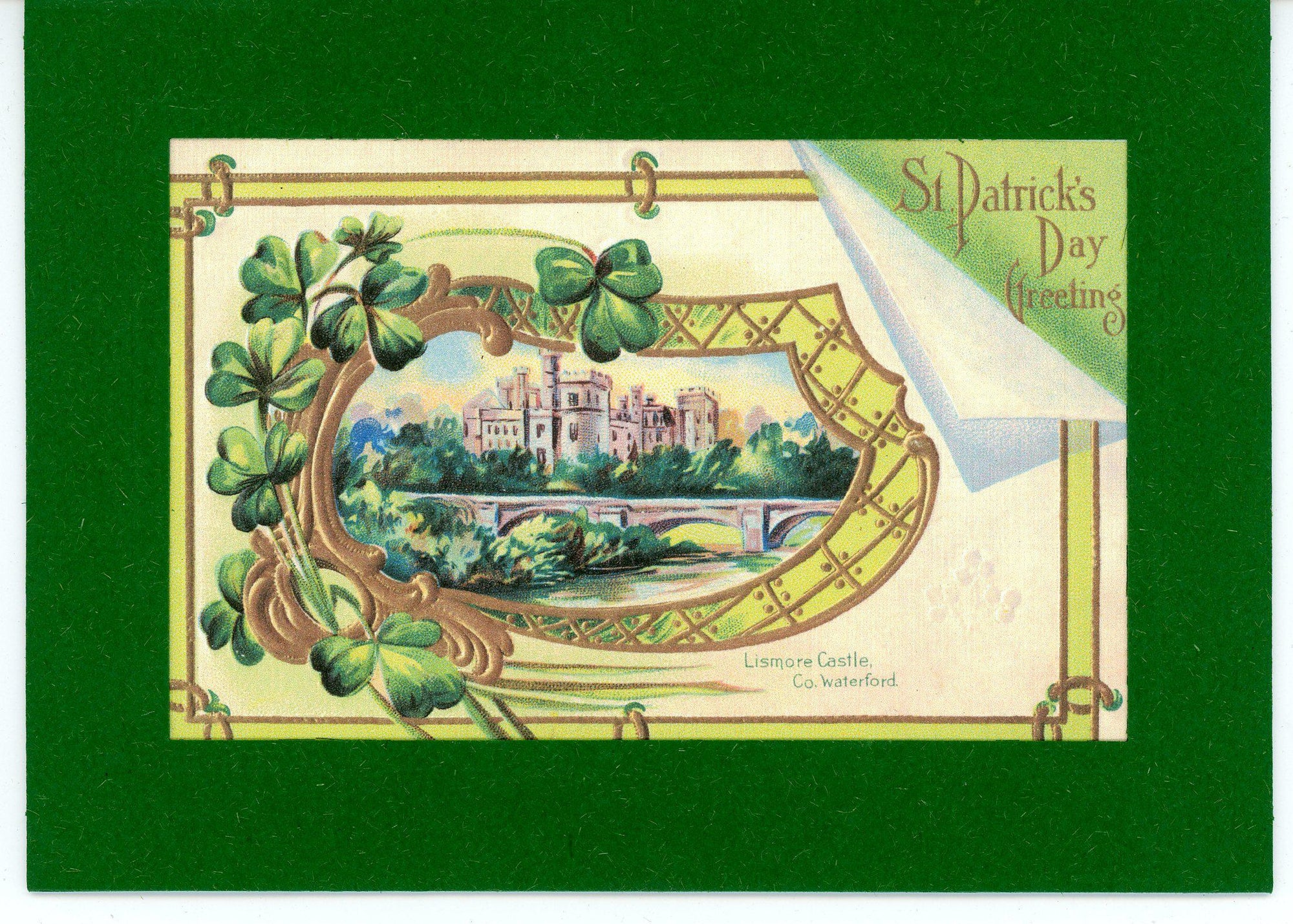 St. Patrick's Day ~ Greeting-Greetings from the Past-Plymouth Cards