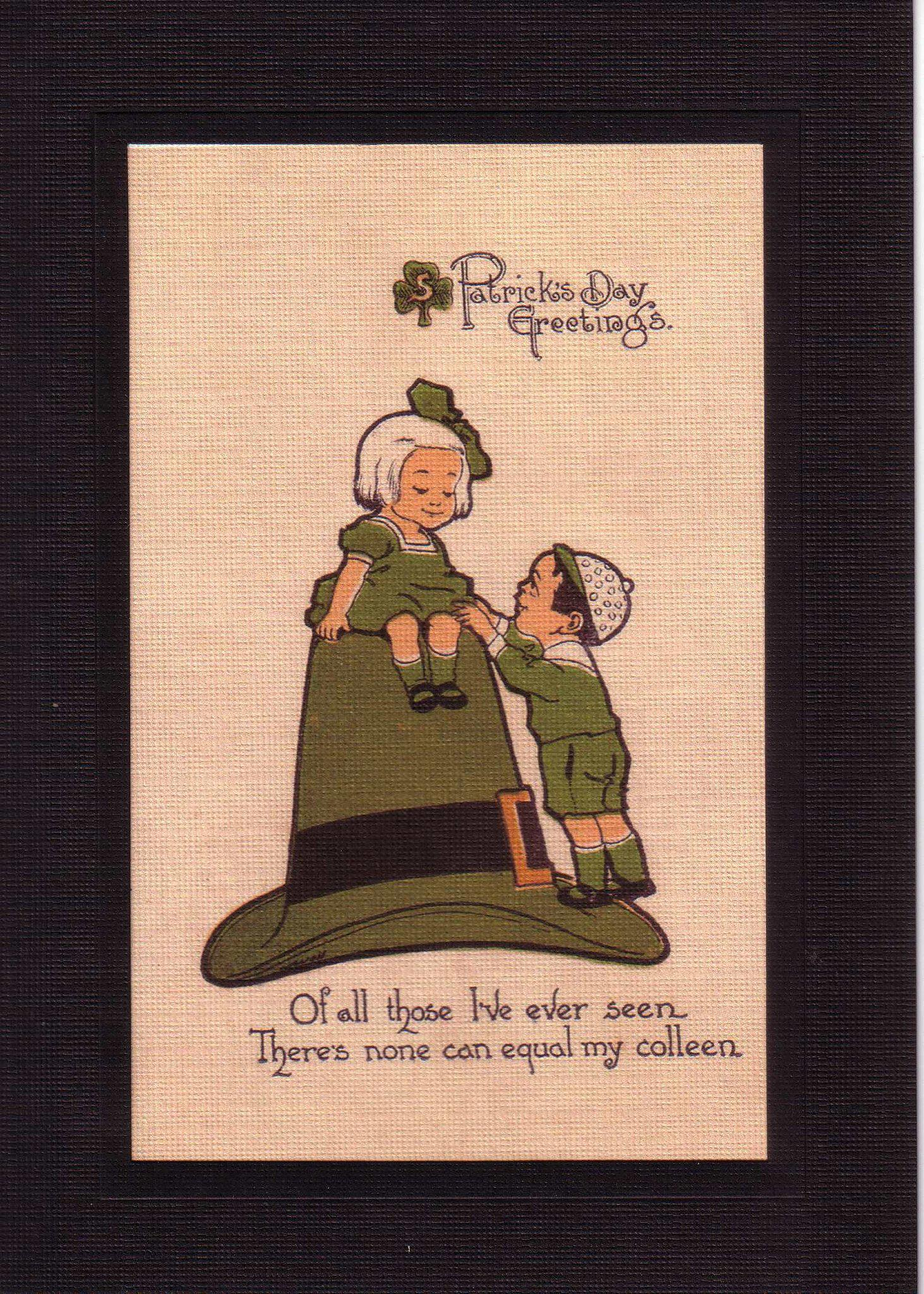 St. Patrick's Day Greeting-Greetings from the Past-Plymouth Cards