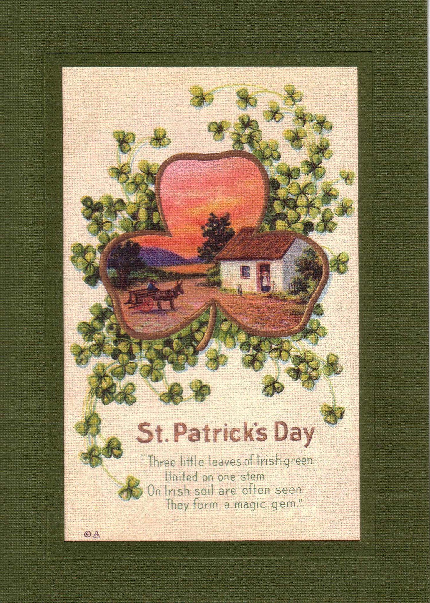 St. Patrick's Day-Greetings from the Past-Plymouth Cards
