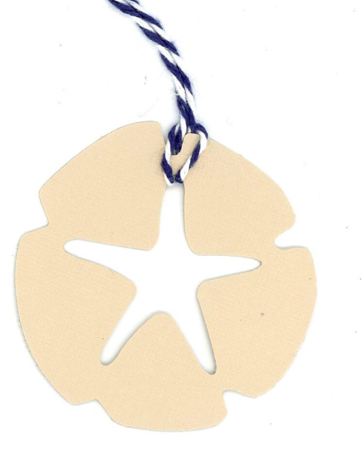 Sand Dollar-Gift Tags-Plymouth Cards