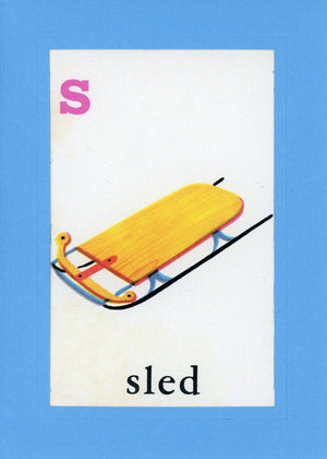 S is for Sled - PLYMOUTH CARD COMPANY  - 1