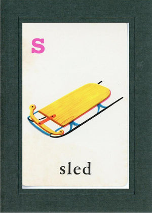 S is for Sled - PLYMOUTH CARD COMPANY  - 2