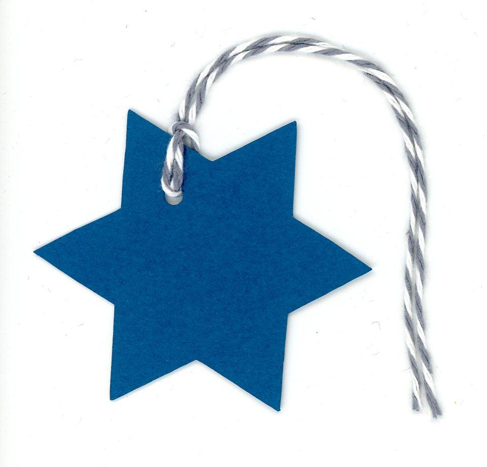 Star of David-Gift Tags-Plymouth Cards