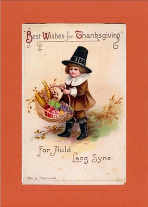 Best Wishes for Thanksgiving - PLYMOUTH CARD COMPANY