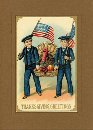 Thanksgiving Greetings - PLYMOUTH CARD COMPANY