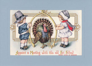 Thanksgiving Wishbone - PLYMOUTH CARD COMPANY