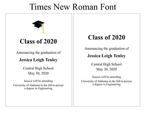 Times New Roman Font Example