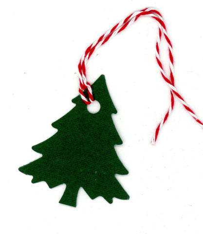 Christmas tree gift tags - PLYMOUTH CARD COMPANY  - 10