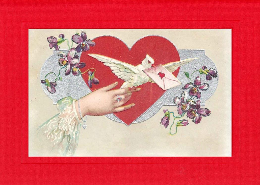 Send a Love Letter-Greetings from the Past-Plymouth Cards