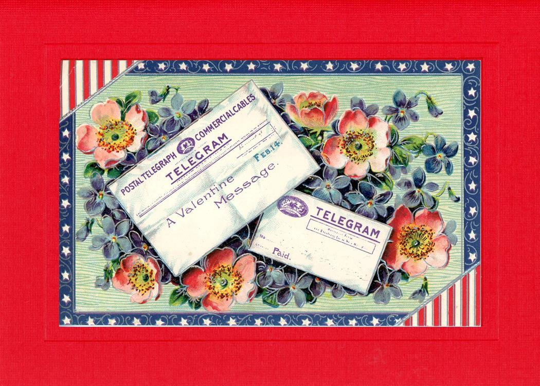 Valentine Patriotic Message - PLYMOUTH CARD COMPANY  - 2