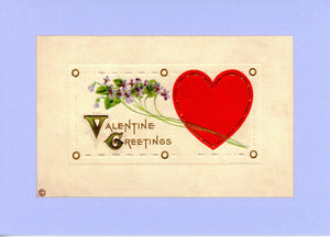 Valentine Greetings - PLYMOUTH CARD COMPANY  - 1