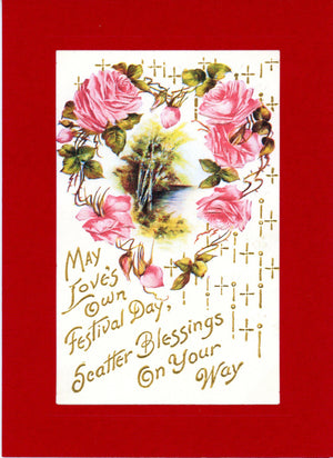 May Love's Own Festival Day-Greetings from the Past-Plymouth Cards