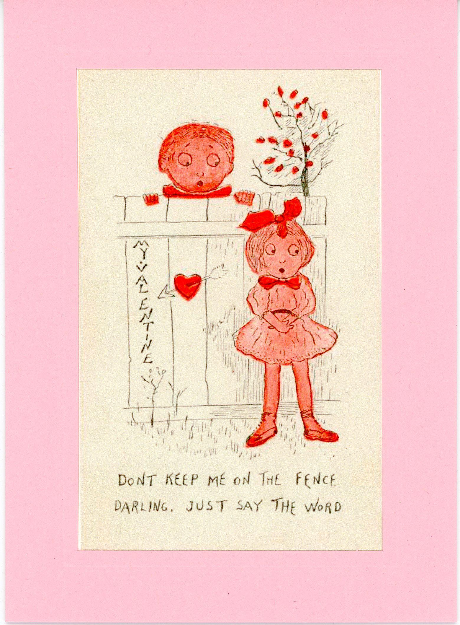 My Valentine-Greetings from the Past-Plymouth Cards