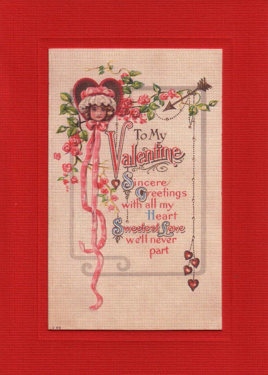 To My Valentine Greetings - PLYMOUTH CARD COMPANY