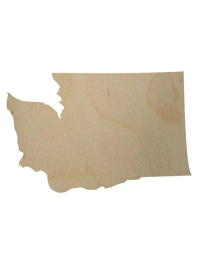 Washington State Shape Gift Tag-Gift Tags-Plymouth Cards