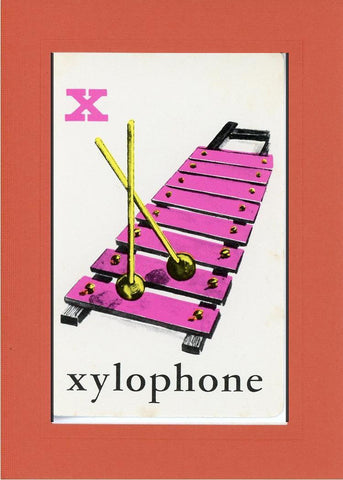 X is for Xylophone - PLYMOUTH CARD COMPANY  - 8