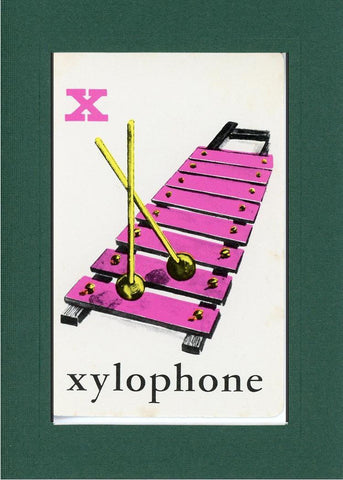 X is for Xylophone - PLYMOUTH CARD COMPANY  - 10