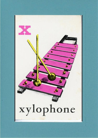 X is for Xylophone - PLYMOUTH CARD COMPANY  - 11