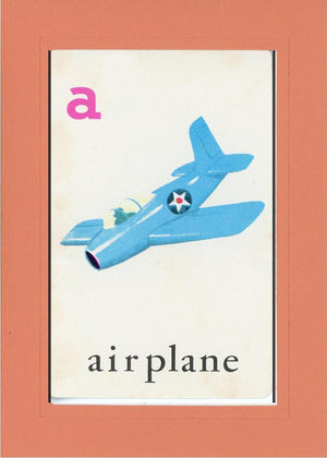 A is for Airplane - PLYMOUTH CARD COMPANY  - 14
