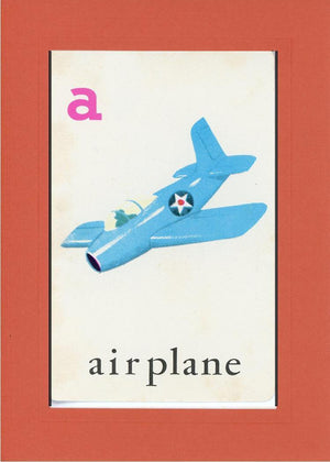 A is for Airplane - PLYMOUTH CARD COMPANY  - 12