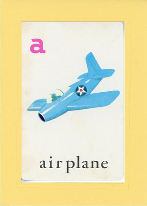 A is for Airplane - PLYMOUTH CARD COMPANY  - 3