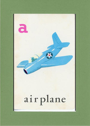 A is for Airplane - PLYMOUTH CARD COMPANY  - 11