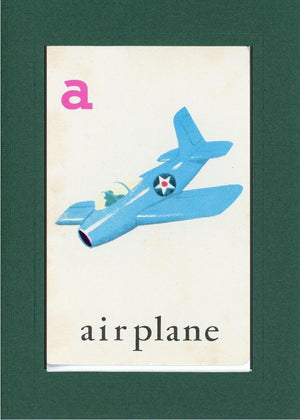 A is for Airplane - PLYMOUTH CARD COMPANY  - 13
