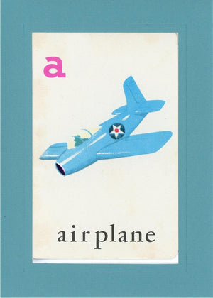 A is for Airplane - PLYMOUTH CARD COMPANY  - 10