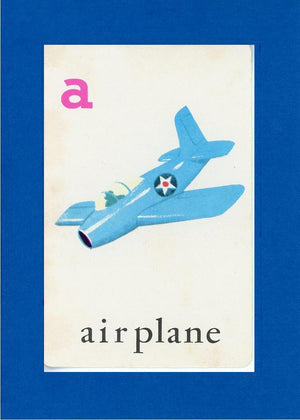 A is for Airplane - PLYMOUTH CARD COMPANY  - 8