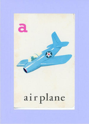 A is for Airplane - PLYMOUTH CARD COMPANY  - 18