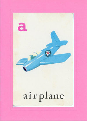 A is for Airplane - PLYMOUTH CARD COMPANY  - 4