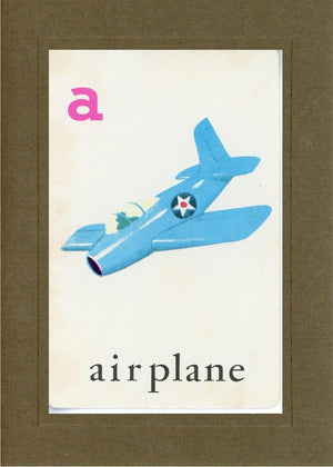 A is for Airplane - PLYMOUTH CARD COMPANY  - 5