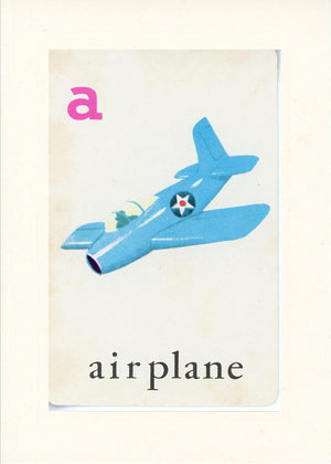 A is for Airplane - PLYMOUTH CARD COMPANY  - 17