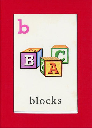 B is for blocks - PLYMOUTH CARD COMPANY  - 5
