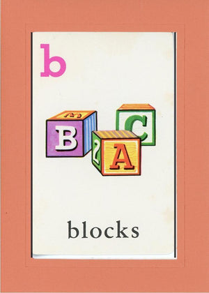 B is for blocks - PLYMOUTH CARD COMPANY  - 6