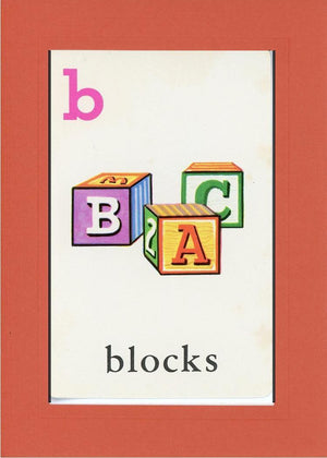 B is for blocks - PLYMOUTH CARD COMPANY  - 7